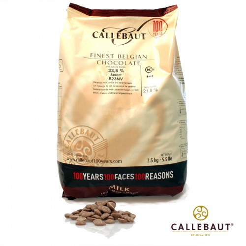 Callebaut Callets Milch Kuvertüre Select 823NV