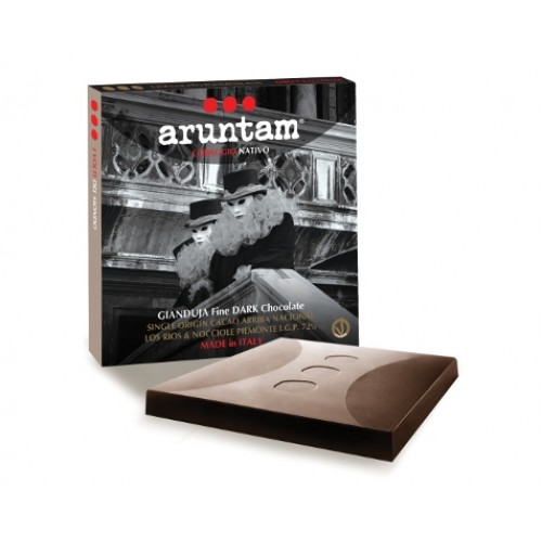 Gianduja Fine Dark Chocolate Bio Single Origin von Aruntam